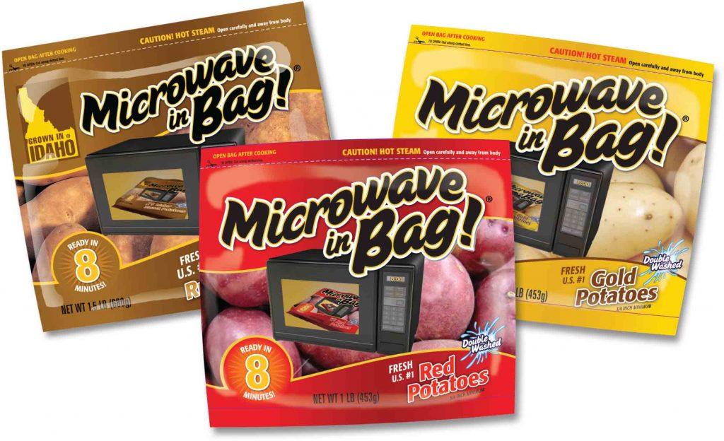 Microwave In Bag Potatoes